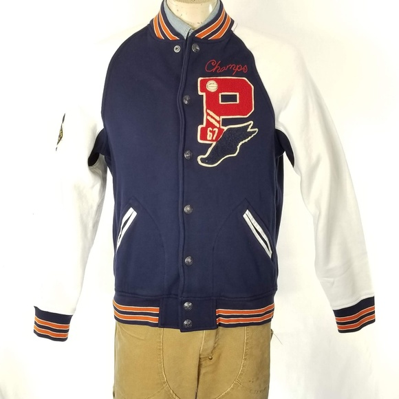 Wing Ralph Varsity Bomber P Lauren Polo Jacket Nwt H9WE2IDY